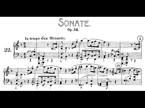 Beethoven: Sonata No.22 in F Major, Op.54 (Lortie, Korstick, Buchbinder)