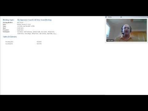 The Appraiser Coach's All Star Team Meeting 01-27-2014