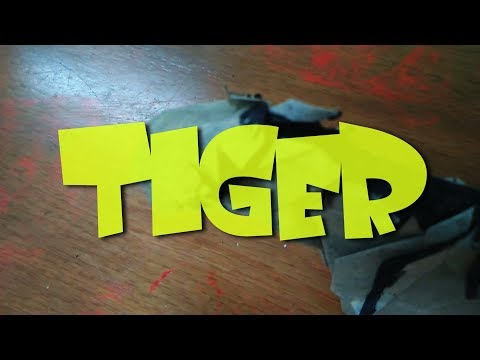 Origami Tiger Tutorial Part 3 - How to fold