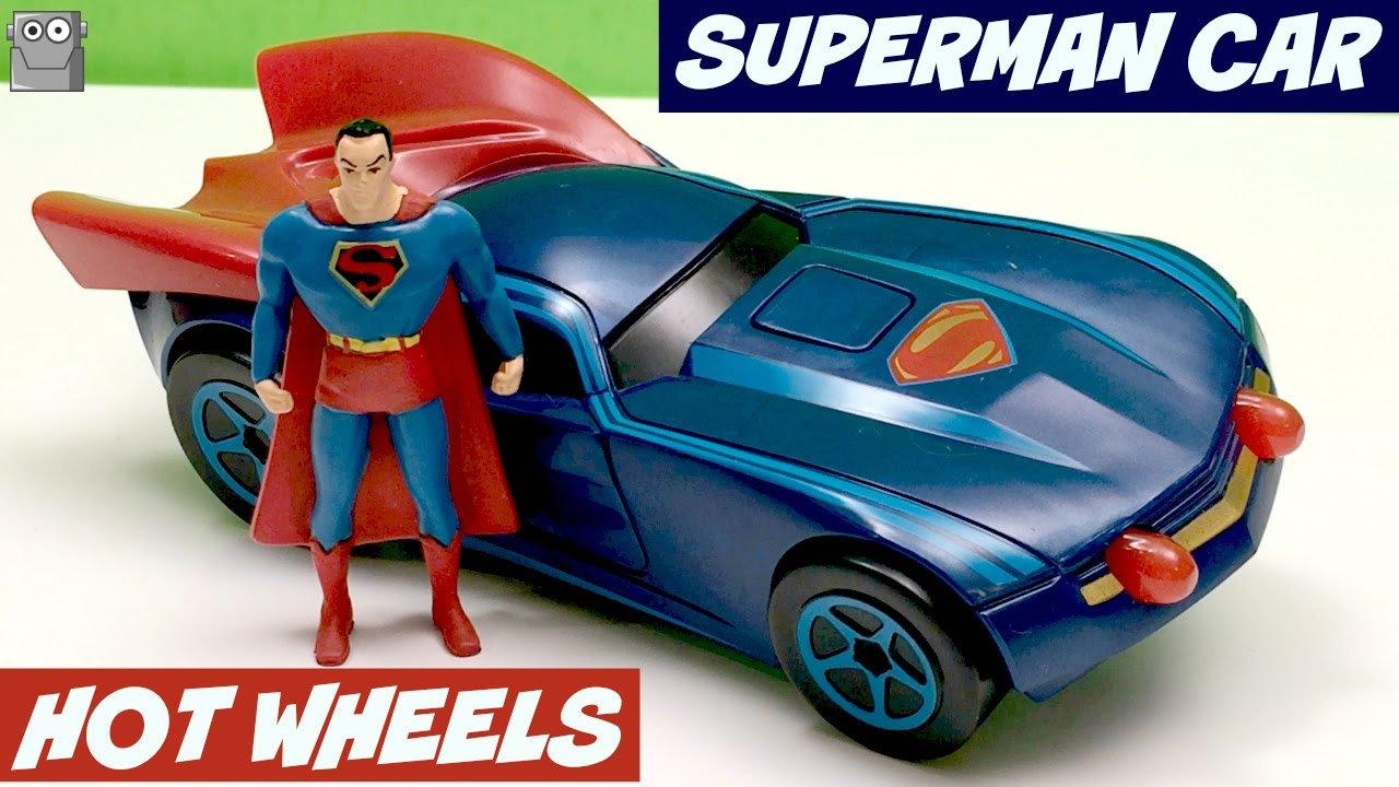 superman hot wheels action car batman wonder woman joker youtube. Black Bedroom Furniture Sets. Home Design Ideas