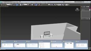 Импорт моделей в сцену 3D Max