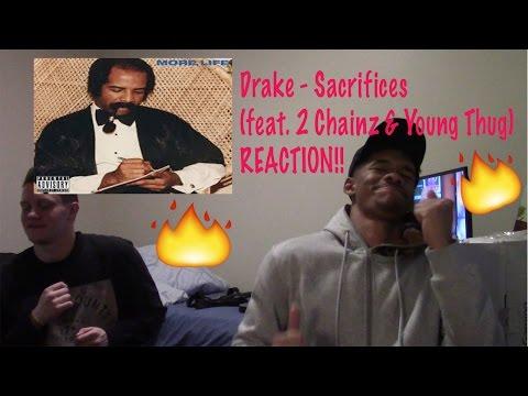 Drake - Sacrifices (feat. 2 Chainz & Young Thug) (REACTION!)