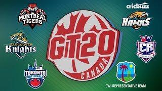 Global T20 Canada Squads