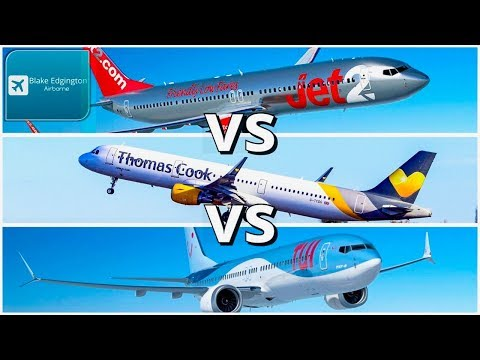 Best holiday airline? Jet2 vs Thomas Cook vs TUI