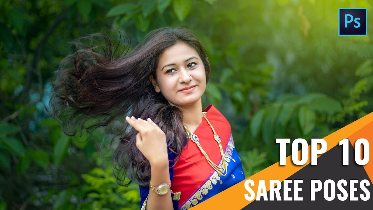 Top 10 best saree poses for girls photography tutorial