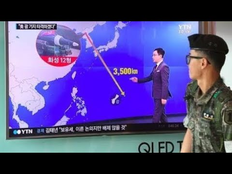 Military Weapon Information ALERT - N.KOREA THREATEN GUAM WITH FOUR SIMULTANEOUS HWASONG-12 IRBM