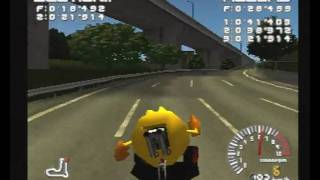 [SONY PlayStation] RIDGE RACER TYPE 4 (PAL) [SCES-01706]: PAC-MAN CAR