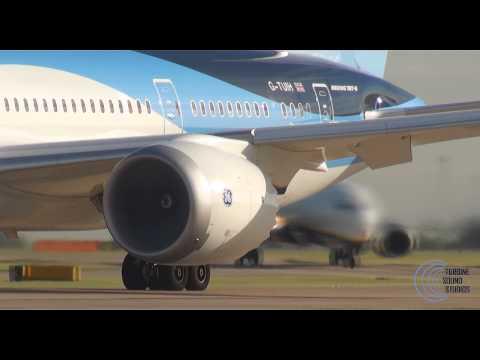Boeing 787 GenX engine up close!