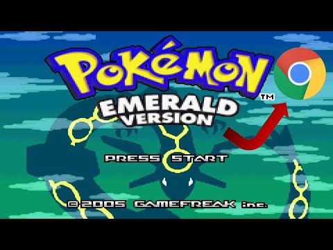 How To Download Pokemon Emerald On A Chromebook Or Computer