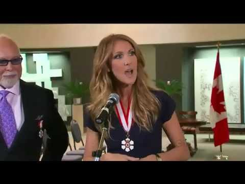 Celine Dion named to top Order of Canada honour