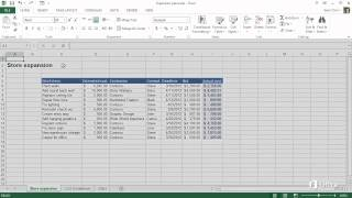 Microsoft Excel 2013 - Make the switch to Excel 2013 - How things are organized - Video 3 of 5