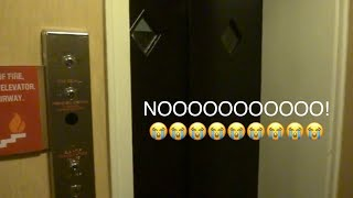 Look what happened to the penthouse elevator at the Crowne Plaza in Niagara Falls!!!! - EPIC FAIL