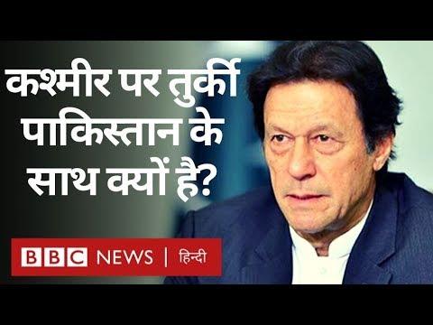 Kashmir पर Pakistan के साथ और India के ख़िलाफ़ क्यों है Turkey? (BBC Hindi)