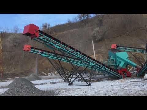 Дробильно-сортировочный комплекс переработка металлургического шлака 150 тонн в час
