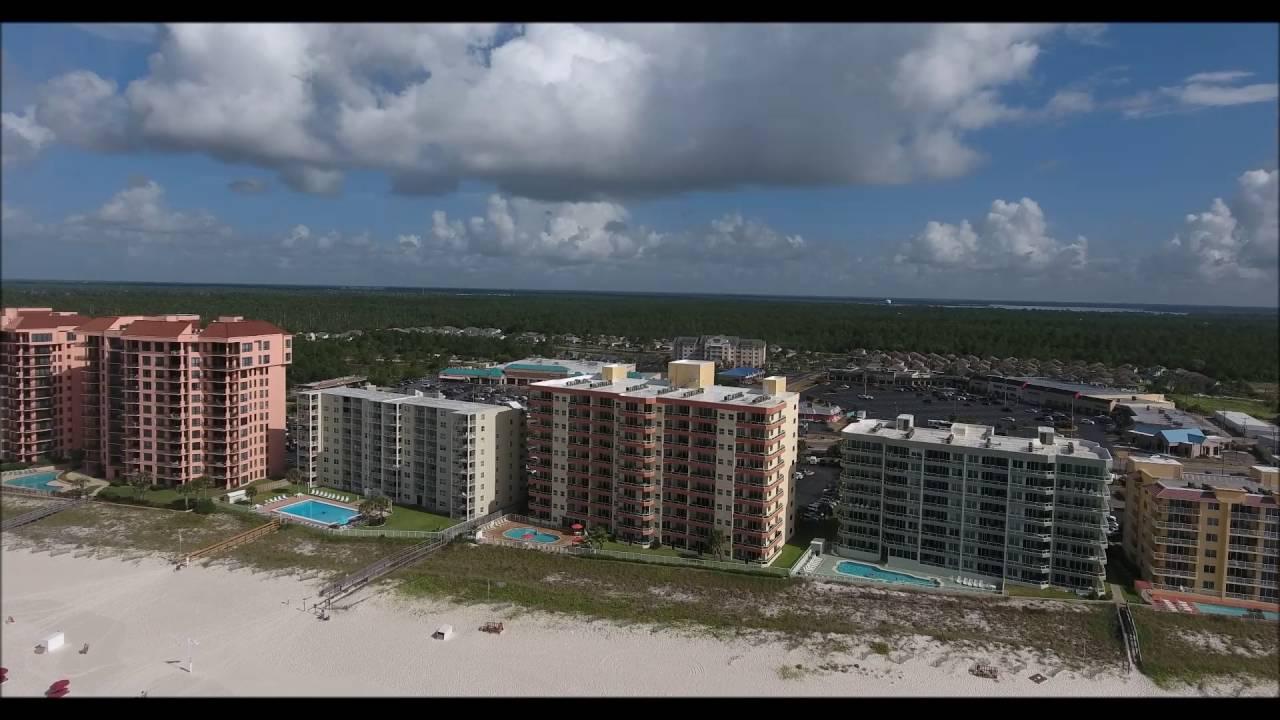 Enclave Condo Aerial Video Orange Beach Al