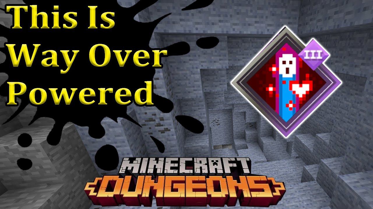 Overpowered Enchantment Minecraft Dungeons Anima Conduit