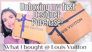 UNBOXING MY FIRST LOUIS VUITTON ITEM ⎮WHAT I BOUGHT?