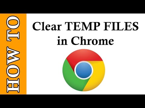 Clean up and clear Temp files in Google Chrome