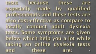 Test dyslexia quickly and easily