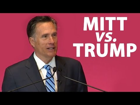 Mitt Romney vs. Donald Trump - Full Speech Highlights And Reaction