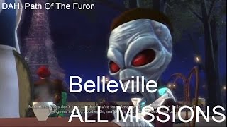 Destroy All Humans Path Of The Furon - Belleville ALL MISSIONS