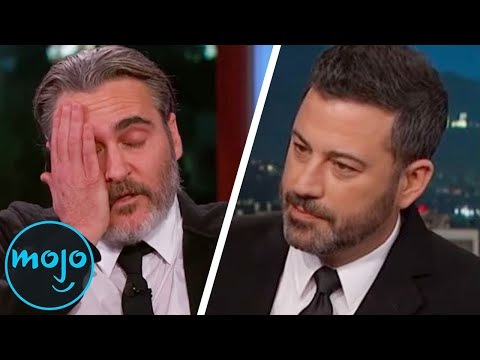 Top 10 Most Awkward Moments on Late Night