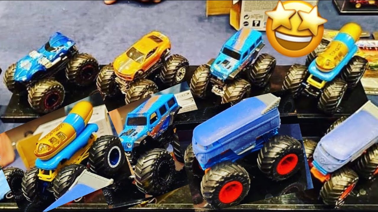 New Hot Wheels Monster Truck Diecasts For 2020 Youtube