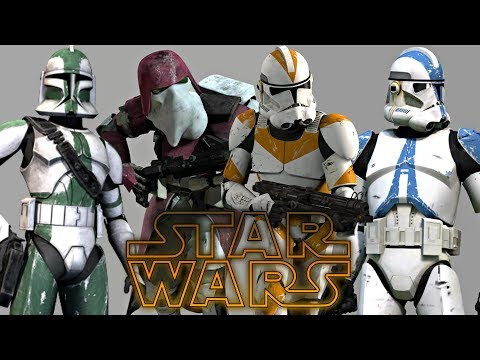 All Clone Corps, Legions & Battalions - Star Wars Explained