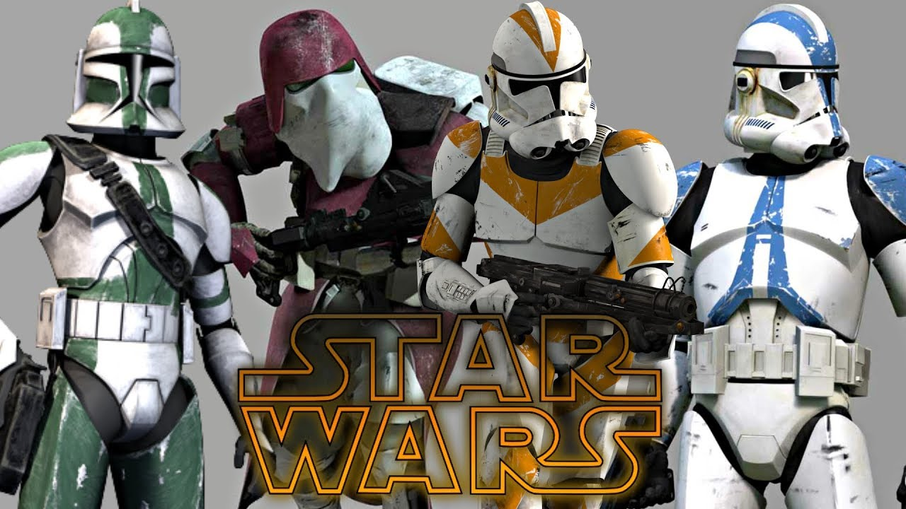 All Clone Corps Legions Battalions Star Wars Explained Youtube