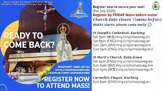 15th Sunday in Ordinary Time - Mass (BM) 2020