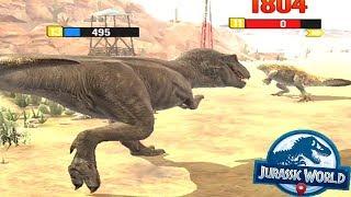 Jurassic World Alive Android Gameplay NEW ARENA UNLOCKED BADLANDS