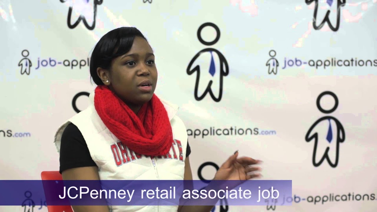 jcpenney interview retail associate youtube