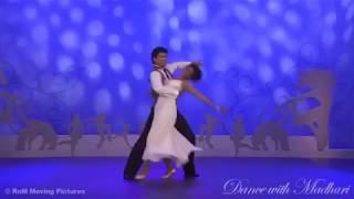 Waltz routine on 'DancewithMadhuri' by Priti Gupta-Udeshi