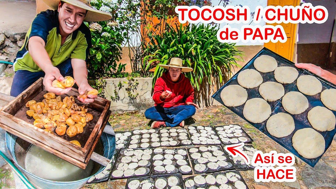 Así ELABORO EL TOCOSH o CHUÑO de PAPA en CASA (La MEDICINA NATURAL de los ANDES)