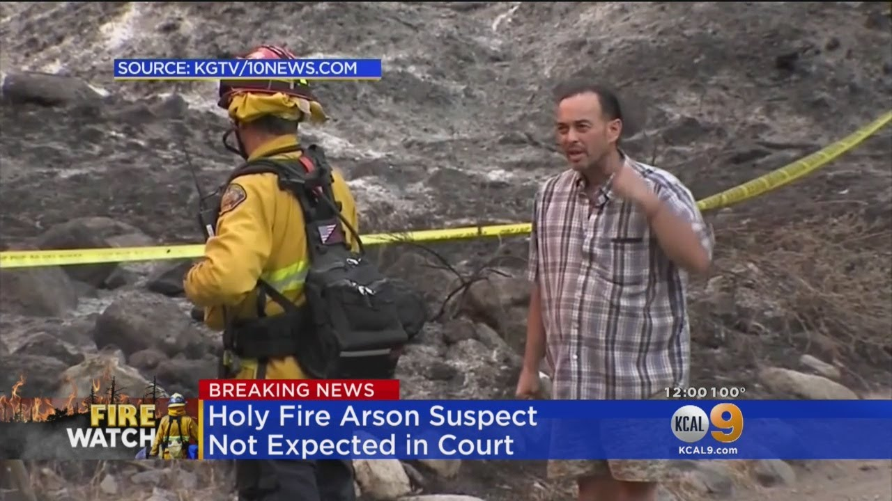 Arraignment For Arson Suspect In Holy Fire Postponed To Friday