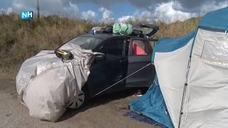 """Campinggasten hebben code oranje overleefd: """"Gelukkig viel het allemaal mee"""""""