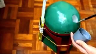 4 boba fett helmet part 4 detailing battle damage re upload