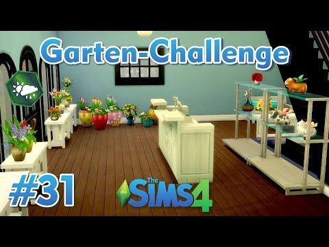 Sims 4 - Garten-Challenge - Rags-to-Riches #31 - Wir richten den Laden ein