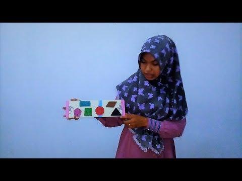 Alat Permainan Edukatif (APE) Mengenal Bentuk Geometri Versi Asmara