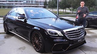 Download 2019 Mercedes S65 AMG - FINAL V12 S Class NEW Review Sound Exhaust Interior Exterior Infotainment Mp3 and Videos