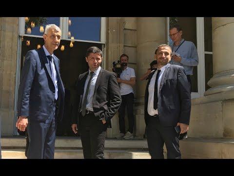 Les trois députés nationalistes corses font leur rentrée à l'Assemblée nationale