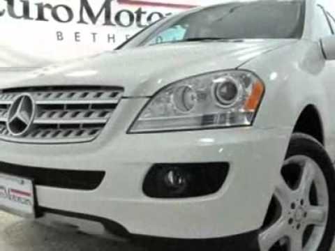 2008 mercedes benz m class ml350 suv bethesda md youtube for Mercedes benz bethesda md