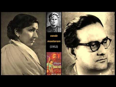 Lata Mangeshkar - Anand Math (1952) - 'vande maataram'