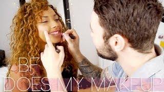 boyfriend does my makeup boyfriend tag   beautycrush