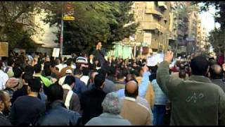 Protests in Tanta 1 February 2011 #3