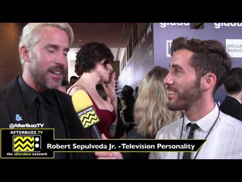 Robert Sepulveda Jr Interview | Glaad Awards 2017