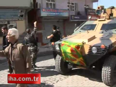 Şırnak'ta bayrak provakasyonu - Gazete32