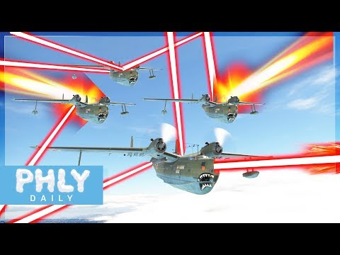 BOAT LASER MEME SQUAD | BE-6 Flying BOAT (War Thunder PLANE GAMEPLAY)