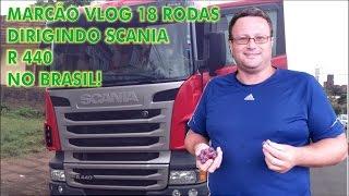 Marcos Ténéré VLOG 18 Rodas dirigindo SCANIA no Brasil vídeo 3 de 4