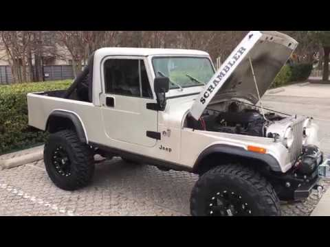 1981 Jeep CJ8 Scrambler LS V8 Swapped - Start-Up